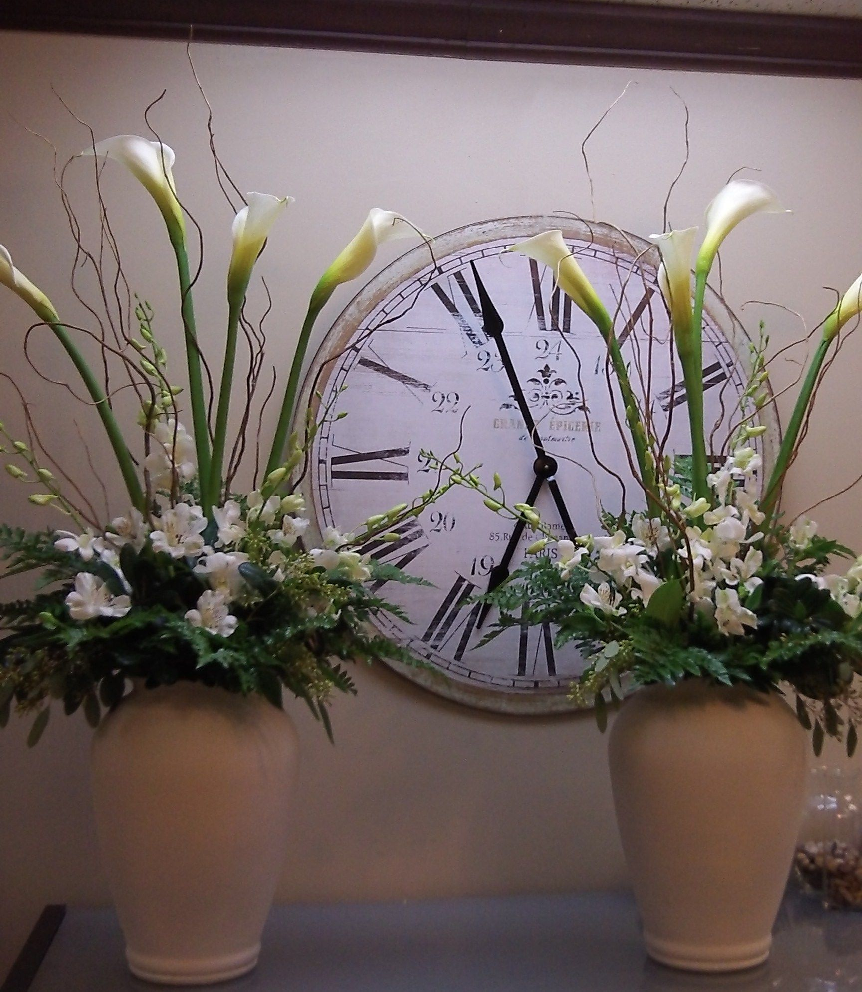 Cross Wedding Altar Flowers: Le Jardin Florals And Gary