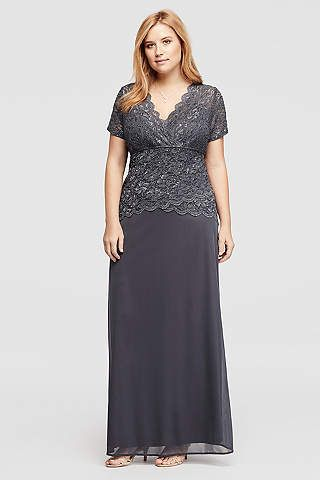 Find the perfect plus size dresses at David\'s Bridal for any ...