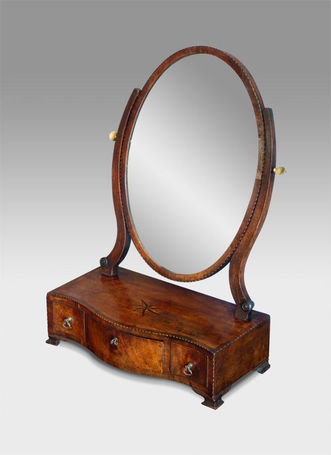 Georgian Dressing Table Mirror Mirrors Dressing Table Mirror