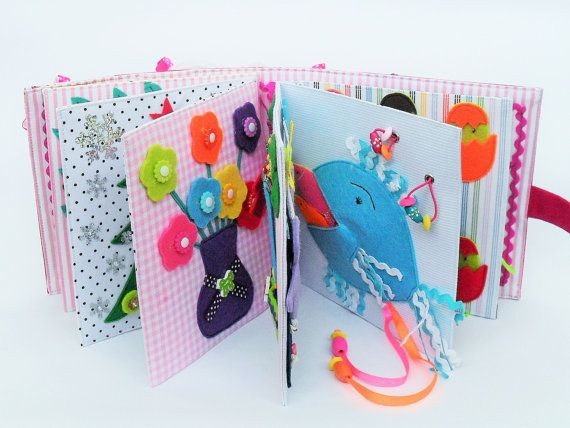 childrens quiet book busy book fabric activity book busy