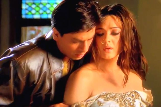 Shahrukh Khan And Preity Zinta Veer Zaara 2004 Pretty Zinta