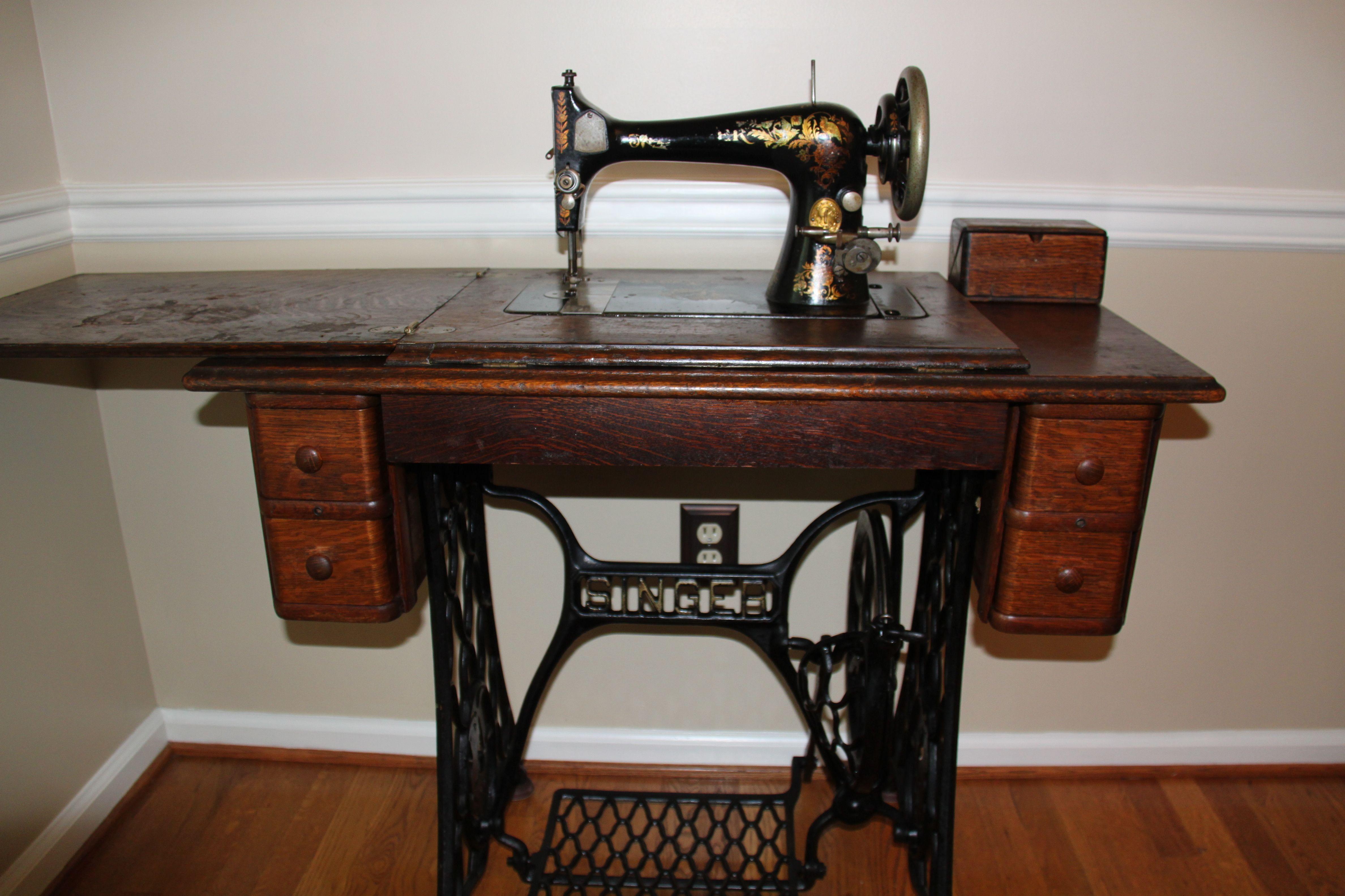 singer sewing machine model 27 value