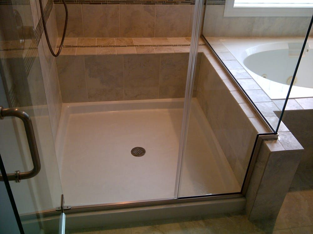 Custom Cultured Marble And Granite Shower Pans Bases Innovate
