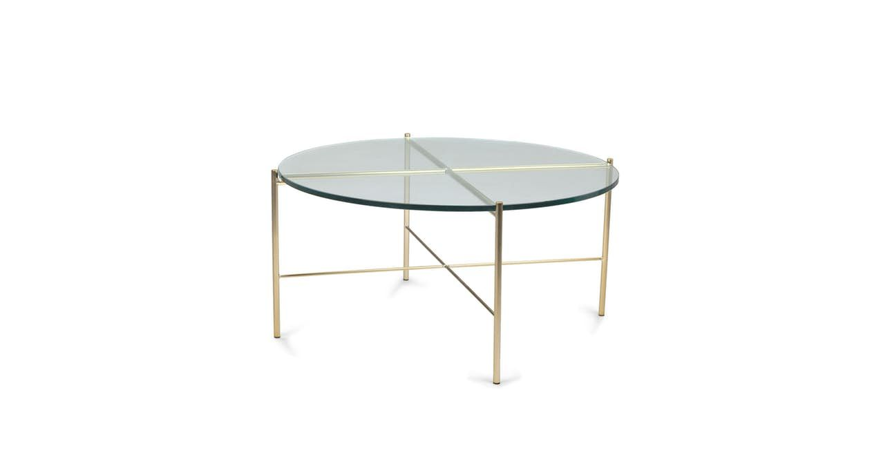 Clear Silicus Round Glass Coffee Table Article Mid Century Modern Coffee Table Coffee Table Round Glass Coffee Table [ 662 x 1275 Pixel ]