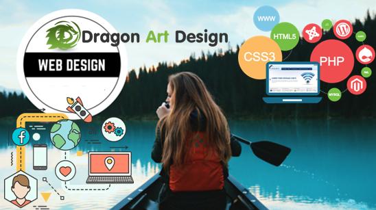 Dragonartdesign Com Offers Professional And Affordable Web Design Search Engine Optimization And Web Design Affordable Web Design Internet Marketing Service