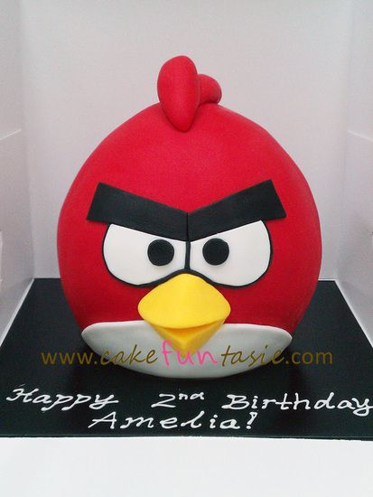 Blog Posts Cake Funtasie Where Dreams Come Baked Angry Birds Cake Red Angry Bird Bird Birthday