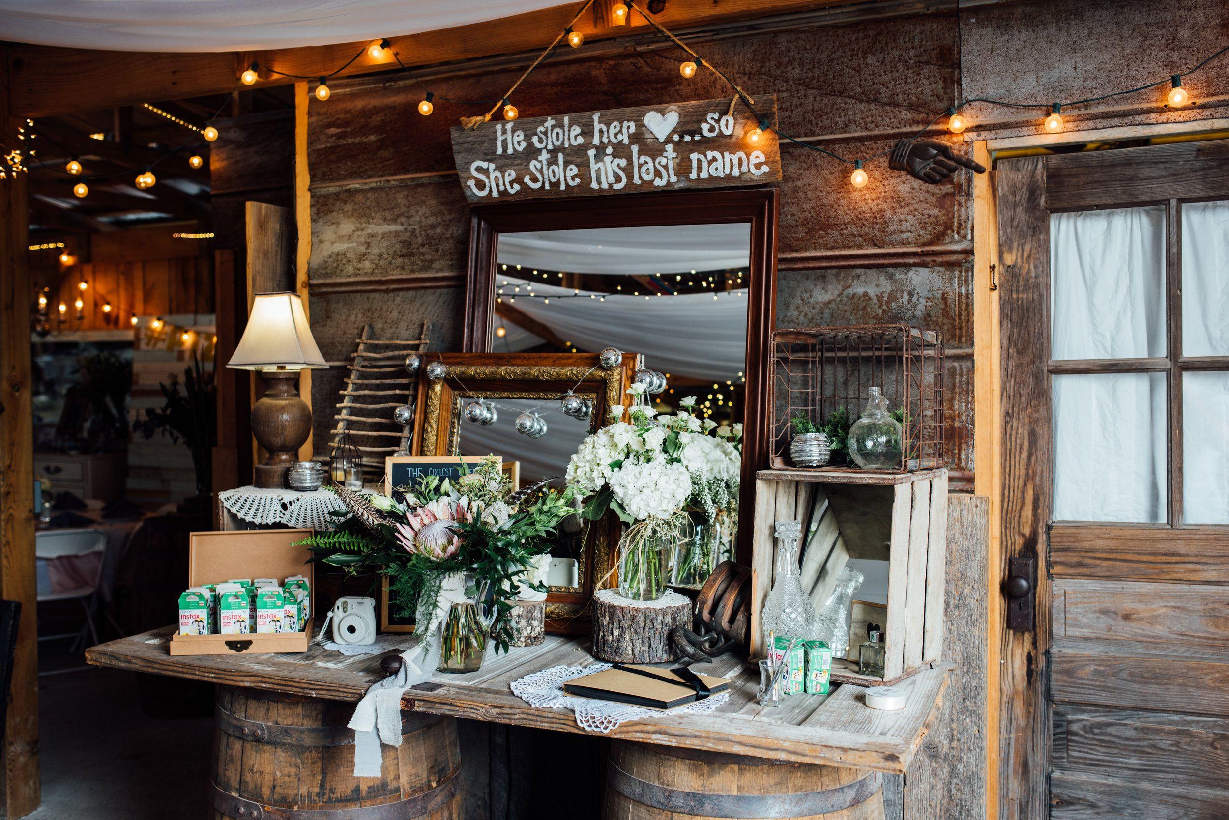 Wedding decorations names october 2018 McKenzie  Evan Barn at Drewia Hill Wedding  Wedding  Pinterest