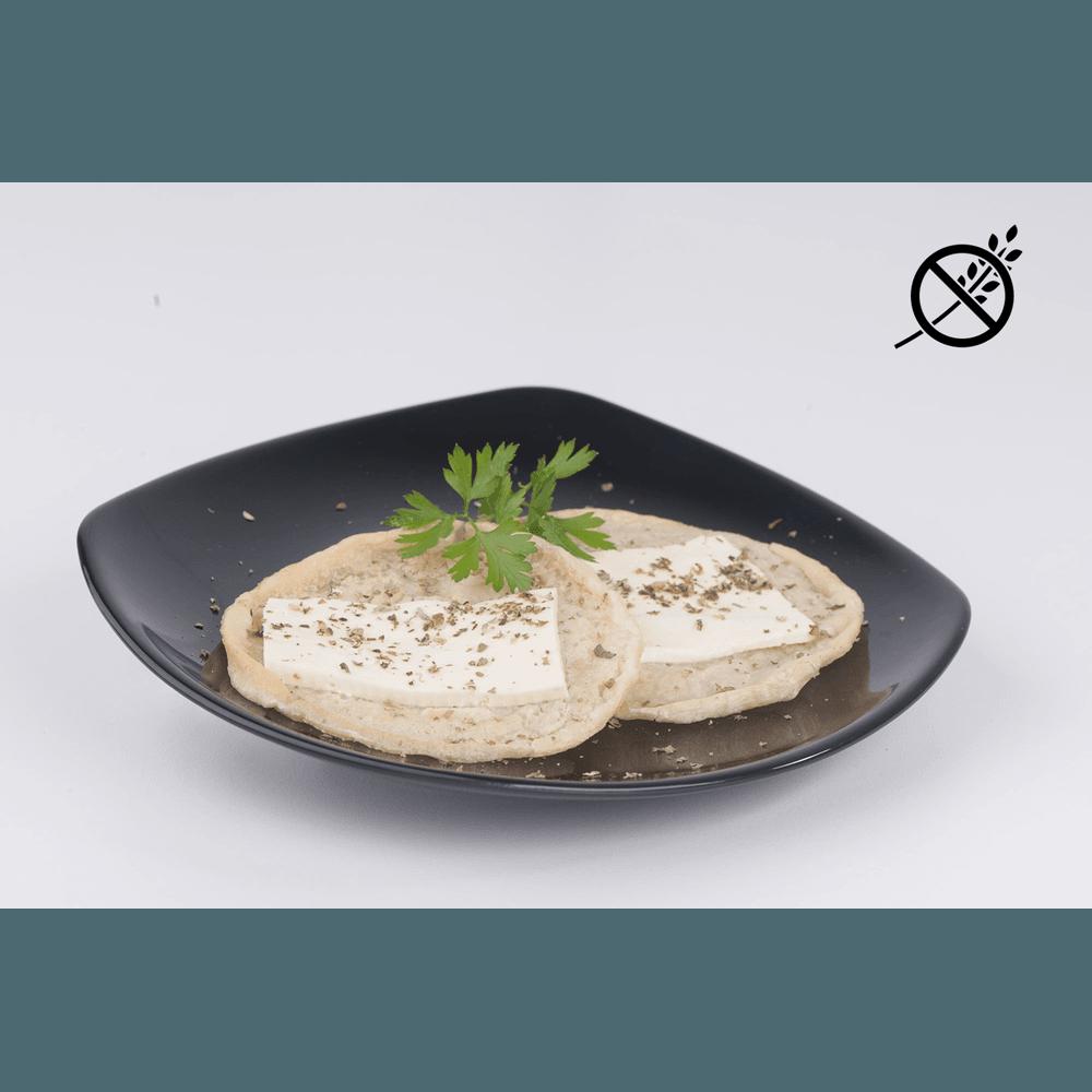 Foto de Crepioca com queijo branco congelada