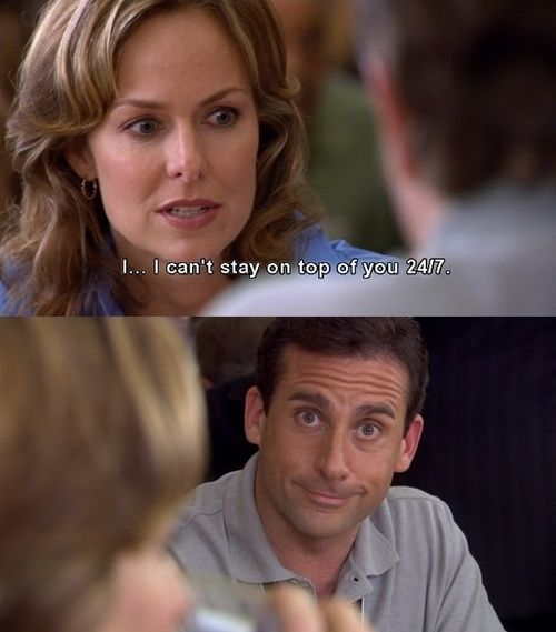 But if there's one thing we can learn from Michael Scott, it's the importance of knowing when to just shut up.