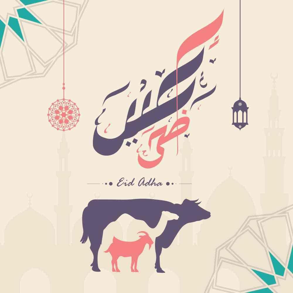 صور عيد الاضحى 2018 بطاقات تهنئة عيد اضحي مبارك 1439 Eid Photos Eid Mubarak Images Eid Al Adha