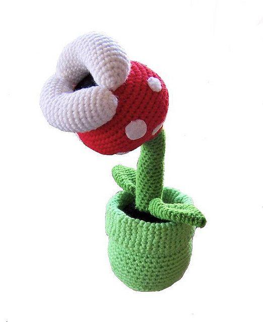 Super Mario Piranha Plant   Stuff I could make   Pinterest   Cactus ...