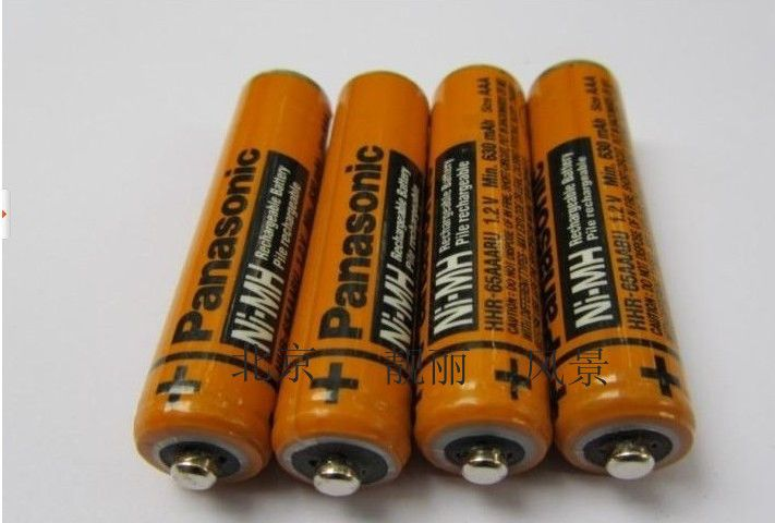 8pcs Lot Original New Aaa Ni Mh Rechargeable Battery 1 2v 630mah For Hhr 55aaabu For Panasonic Cordless Phone In Rechargeable Batteries Cordless Phone Battery