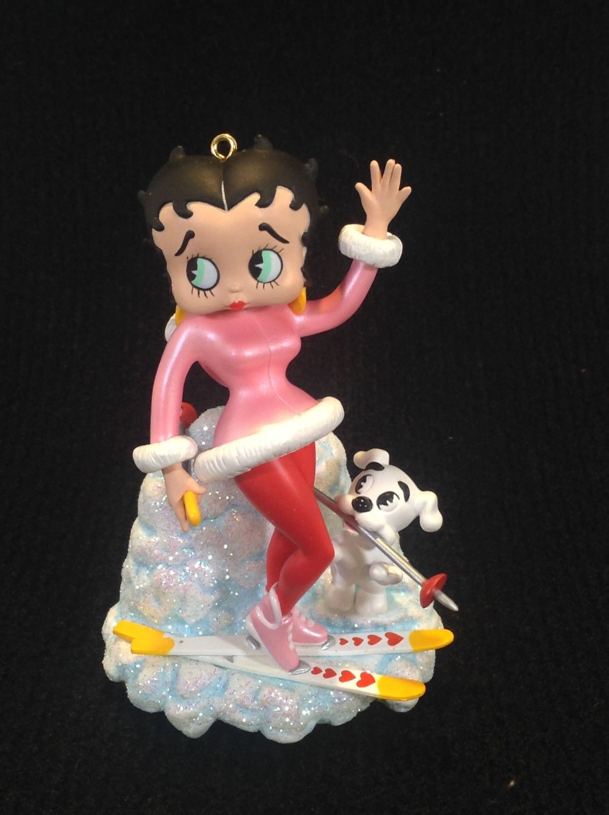 BETTY BOOP QUEEN OF HEARTS CHRISTMAS HOLIDAY ORNAMENT