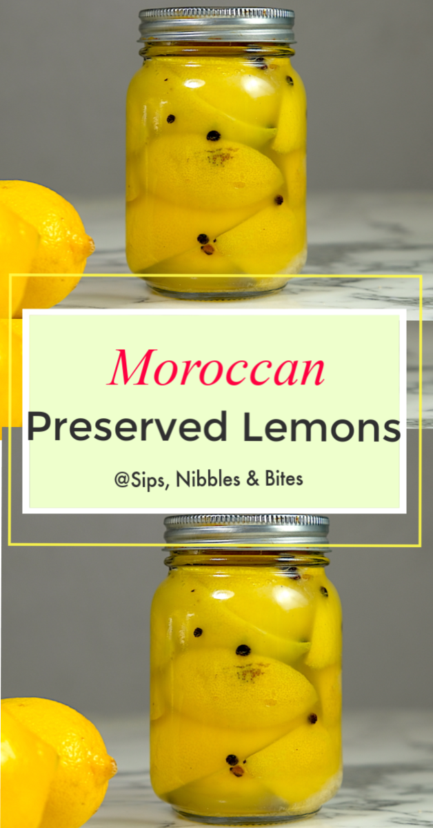 Moroccan Preserved Lemons have a unique lemon flavor without any of the bitter, tart characteristics of fresh lemons. They are an important ingredient when making many Moroccan and other North African dishes #lemon #preservedlemon #moroccan #moroccanpreservedlemon #northafrican #tagine #couscous #africa #africanrecipe #lambtagine #lambstew #foodblog #preservedlemons #condiment #preserves #morocco #casablanca #authenticrecipe #recipe #easyrecipe #lemon #lemonrecipe #canning #lemonbrine