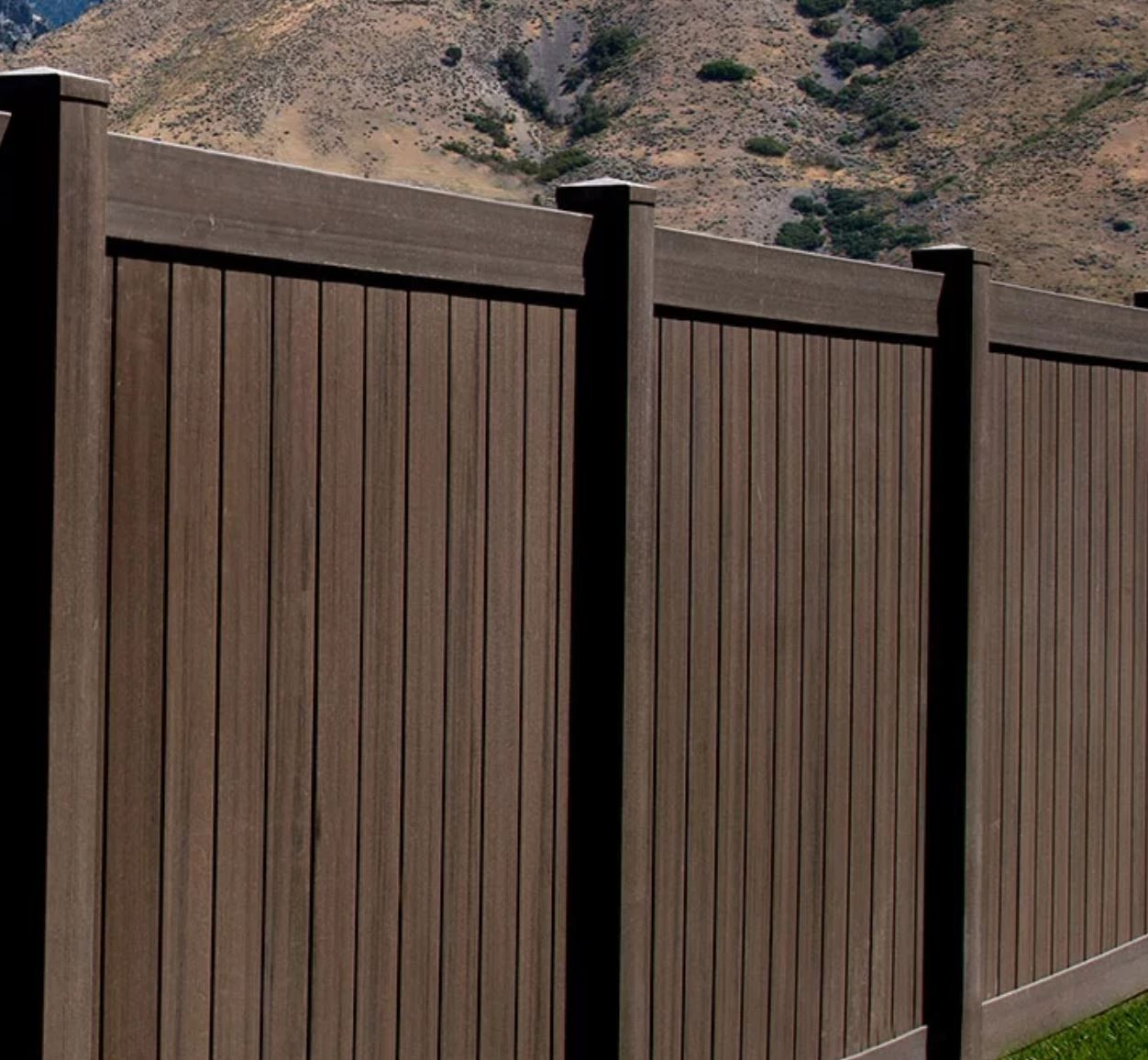 Colored Vinyl Fencing And What It Means For You Wood Grain Vinyl Fence Vinyl Fence Vinyl Fence Colors