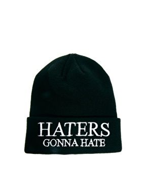 cf4a5bfada2 ASOS Tall Beanie With Haters Logo ( 10.00) - Svpply Asos Hats