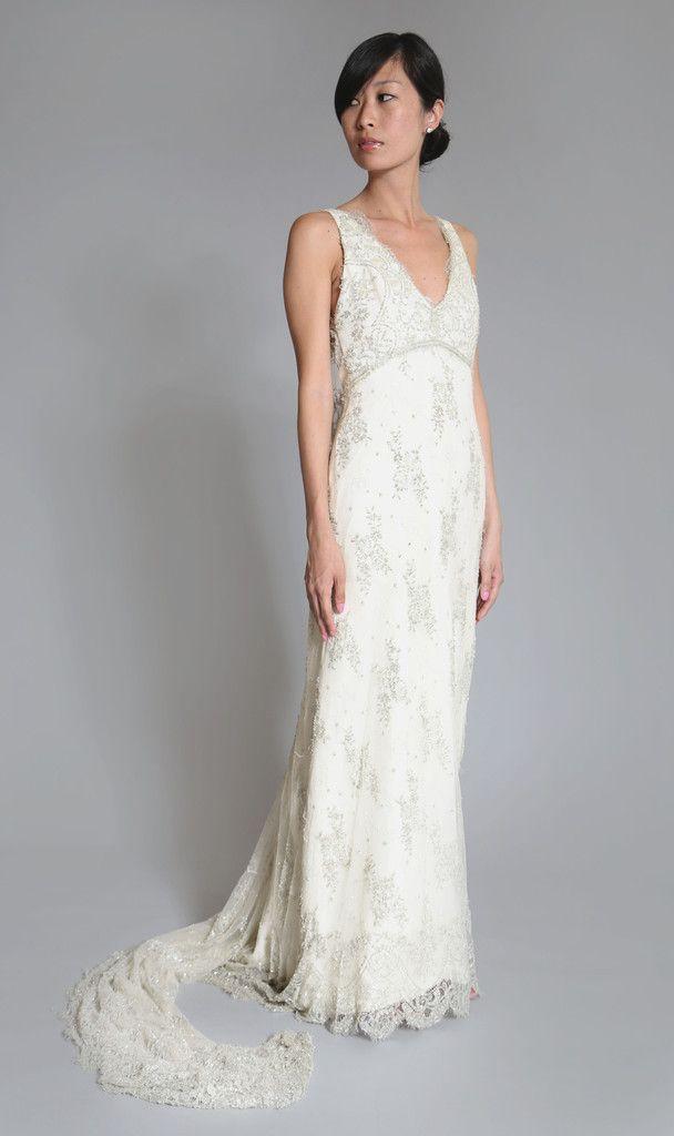 Junko Yoshioka Melania Lace Gown