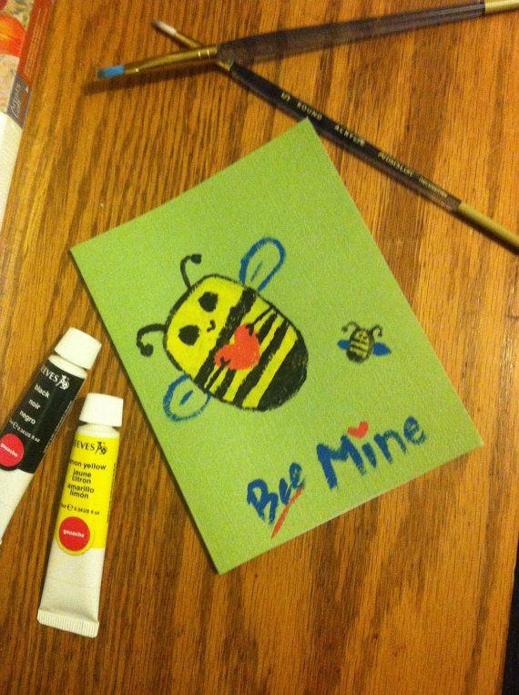 Valentine's Card - Bee Mine
