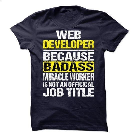 Web Developer - #long sleeve shirt #wholesale hoodies. SIMILAR ITEMS => https://www.sunfrog.com/LifeStyle/Web-Developer-69791620-Guys.html?60505