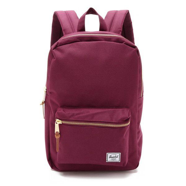 Herschel Heritage (Windsor Wine/Tan Synthetic Leather) Backpack Bags EdrOLTYt