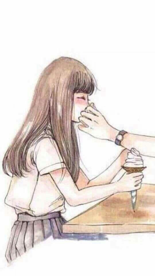 31 Lockscreen Gambar Anime Couple Terpisah Keren Koleksi Rial Gambar Anime Gambar Gambar Kartun