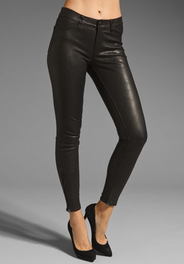f66669dfe8b2c3 J Brand Leather Pant in Noir | Wish List!!! | Leather pants, Leather ...