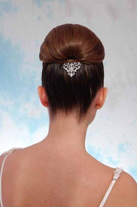 Peinado tipo recogido alto de novia del Centro de Belleza PeinArte
