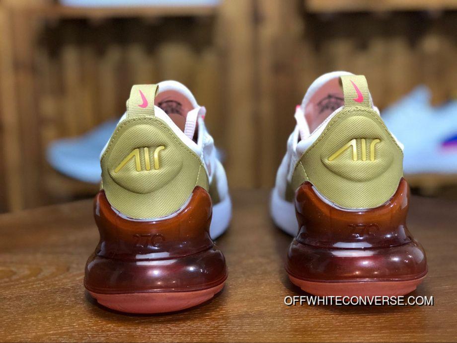d9c8e8f27cb Nike Air Max 270 AH6789 801 Womens Running Shoes GUAVA ICE TERRA BLUSH-RACER