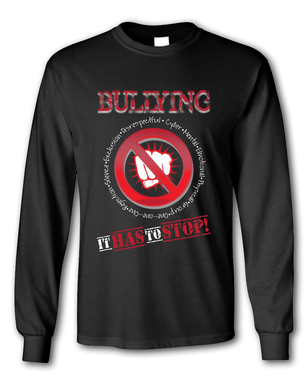 89a1f2337af Anti-Bullying T-Shirt Design