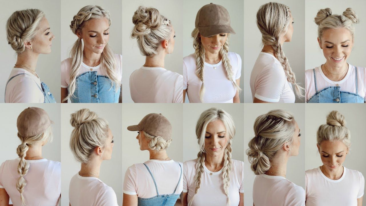 12 Easy Gym Workout Hairstyles Everyday Youtube First Of These I Seriously Would Use Every One Workout Hairstyles Easy Workout Hairstyles Easy Bun Hairstyles
