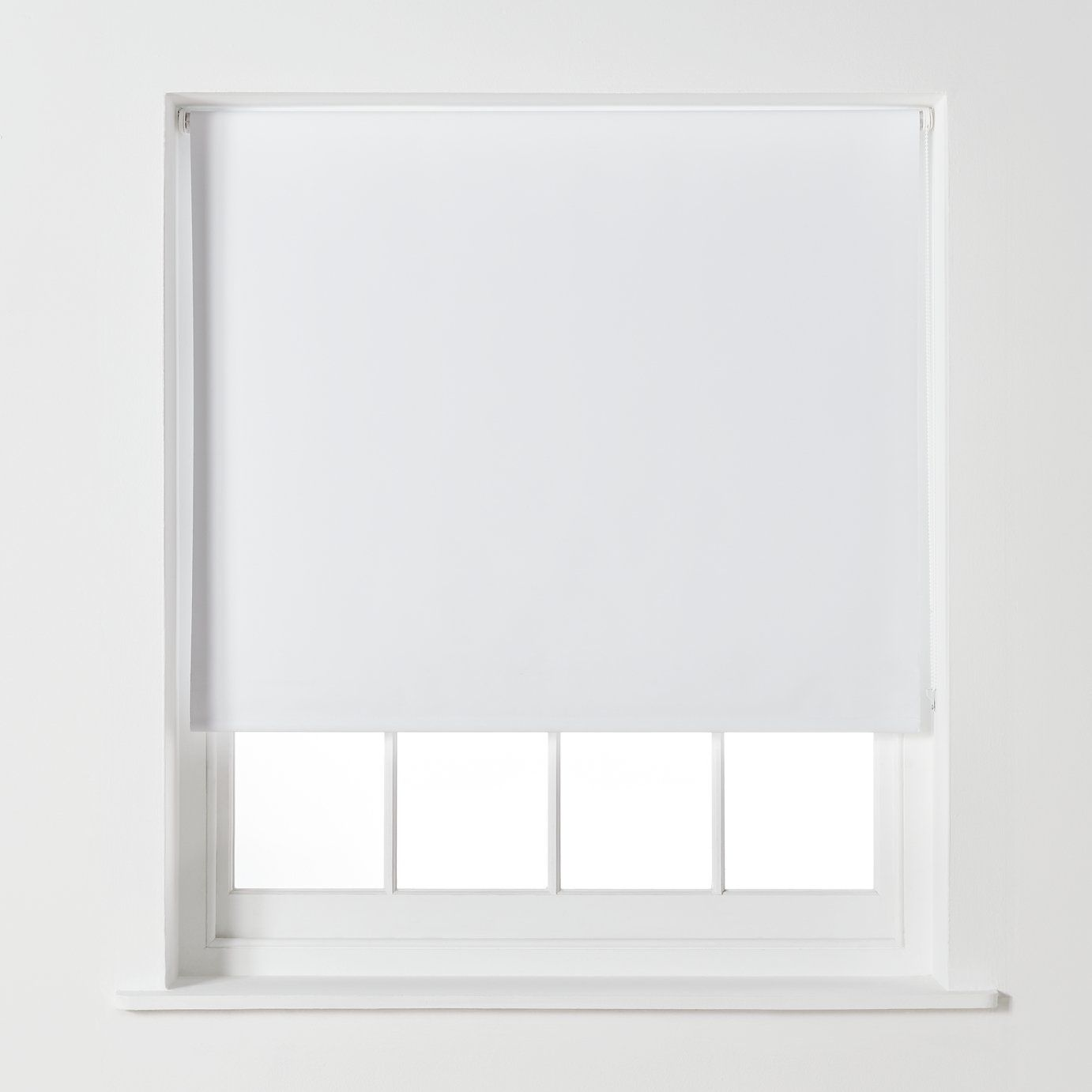Argos Home Blackout Roller Blind - 6ft - Super White in ...