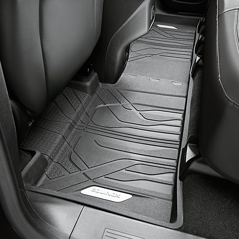 This Premium Allweather Rear Floor Liner In Jet Black With Equinox