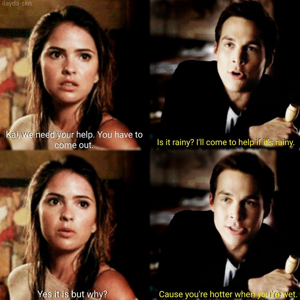 Kai and Malia <3 (not my edit) *Fandoms: Teen Wolf and The