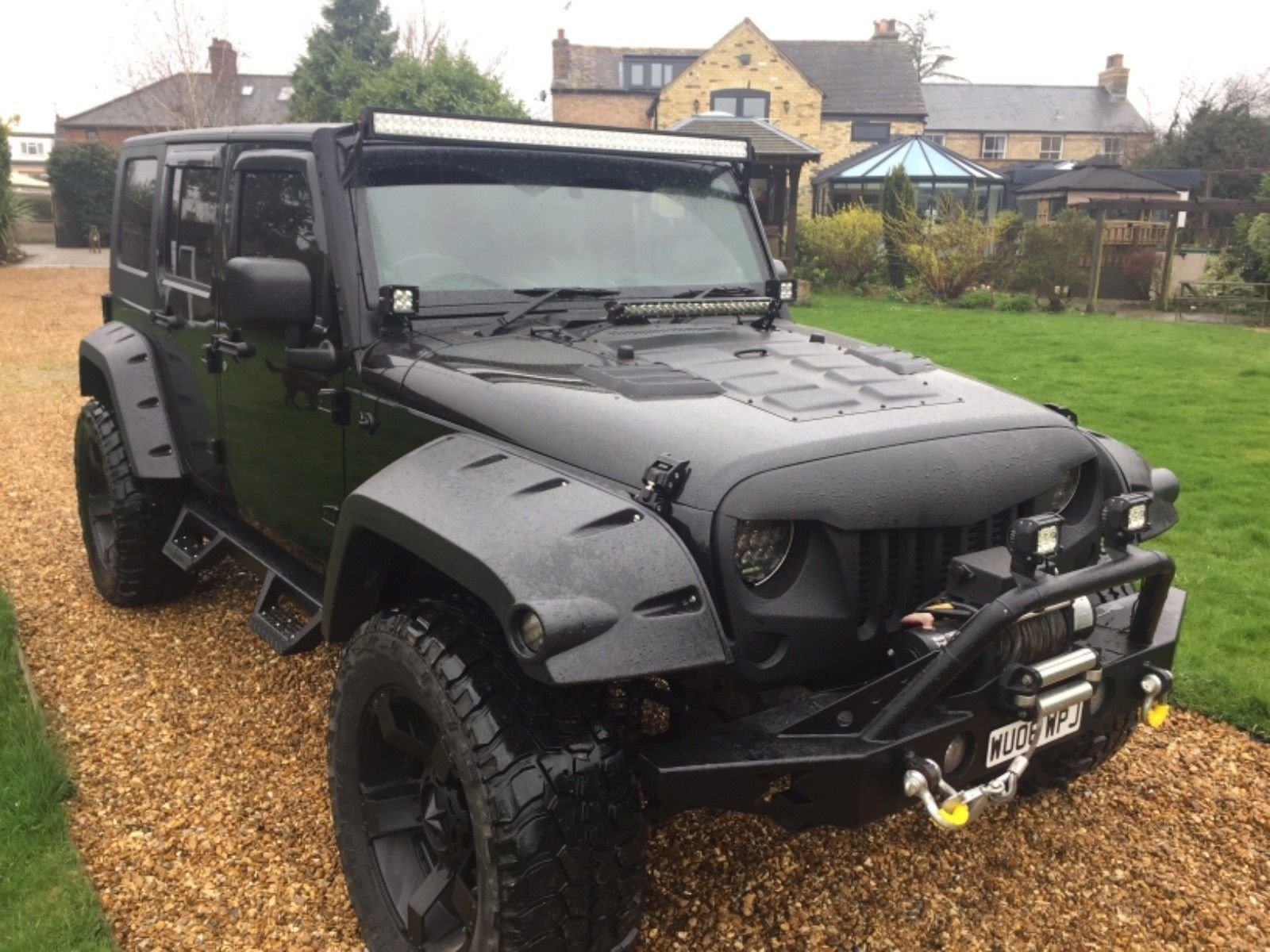 Ebay Wrangler Jeep Jk 2 8 Crd Sahara Unlimited Modified Off