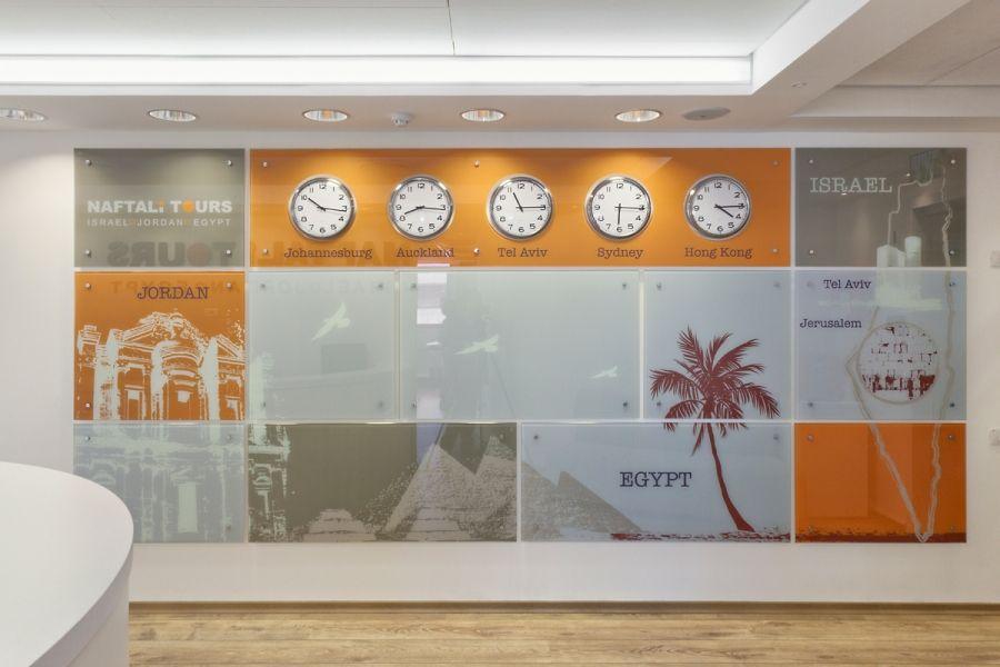 Travel Agency Interior