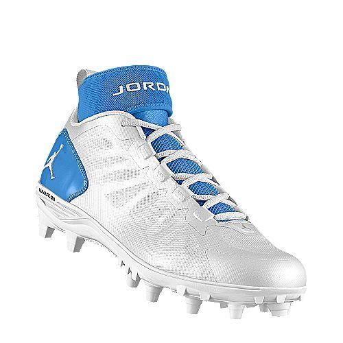 I designed the white North Carolina Tar Heels Air Jordan ... North Carolina Football Shoes