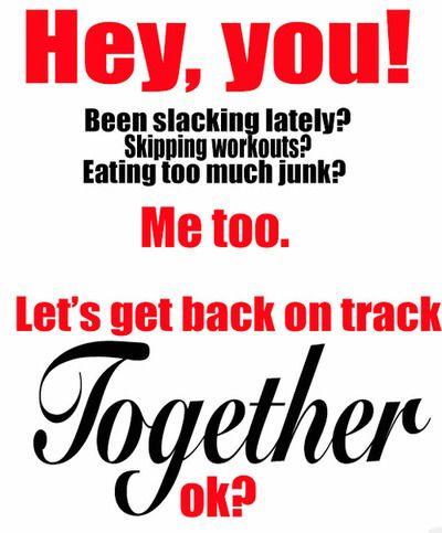 let's get on track together!