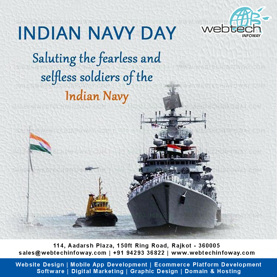 Indian Navy Day Indiannavyday Indian Navy Day Navyday Indian Navy Day Navy Day Web Development Logo