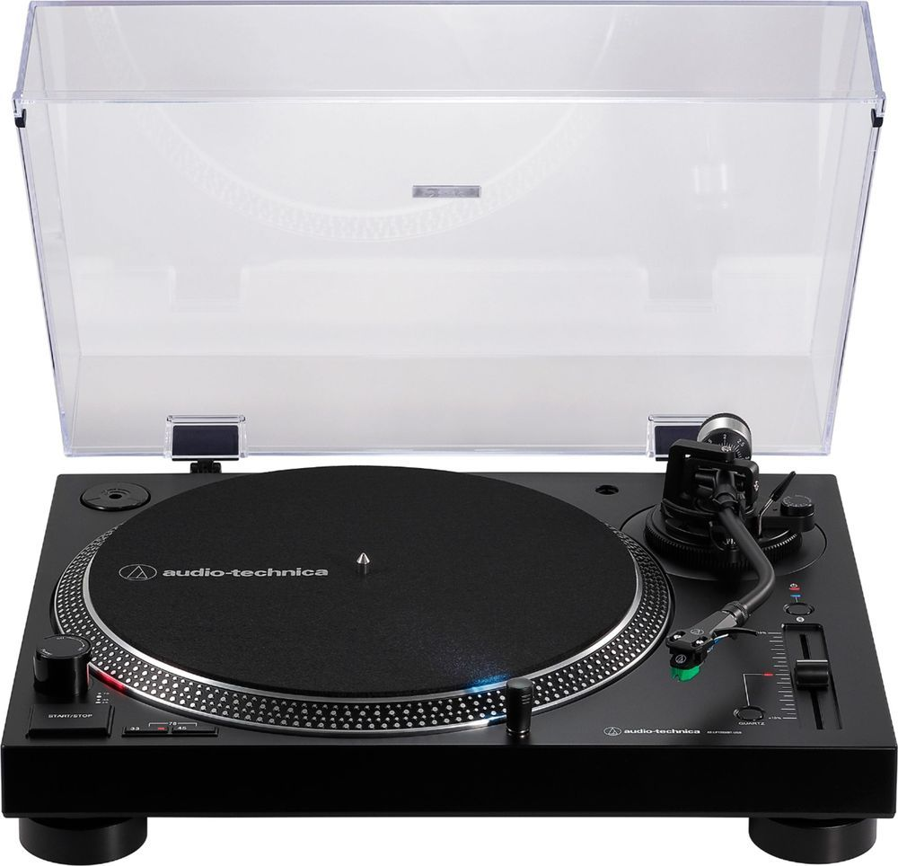 Audio Technica Atlp120xbt Bluetooth Stereo Turntable Black At Lp120xbt Usb Bk Best Buy In 2021 Audio Technica Stereo Turntable Turntable