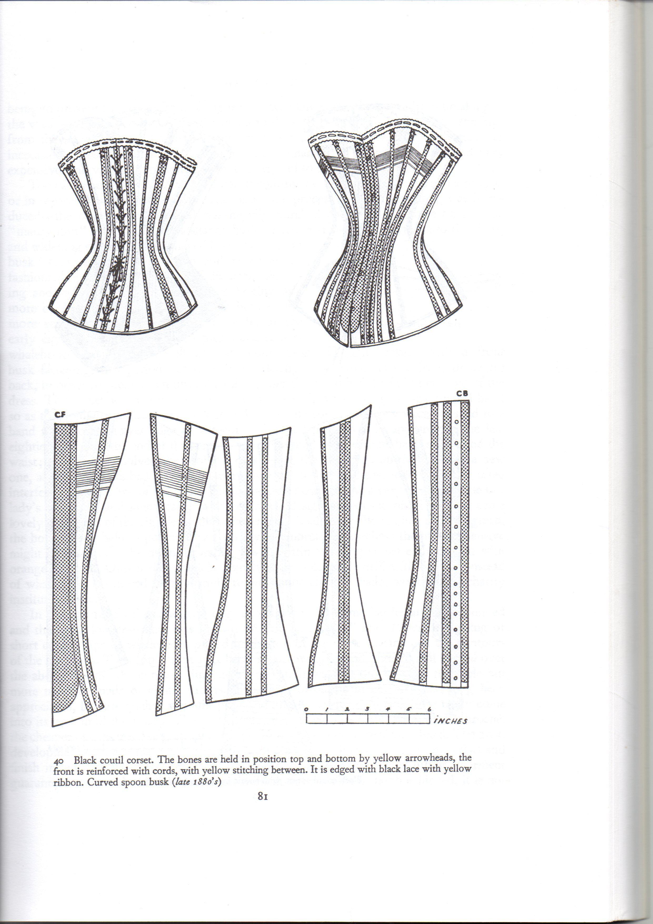 Laced in – Victorian corset | Patron de sujetador, Patrones y Corseteria