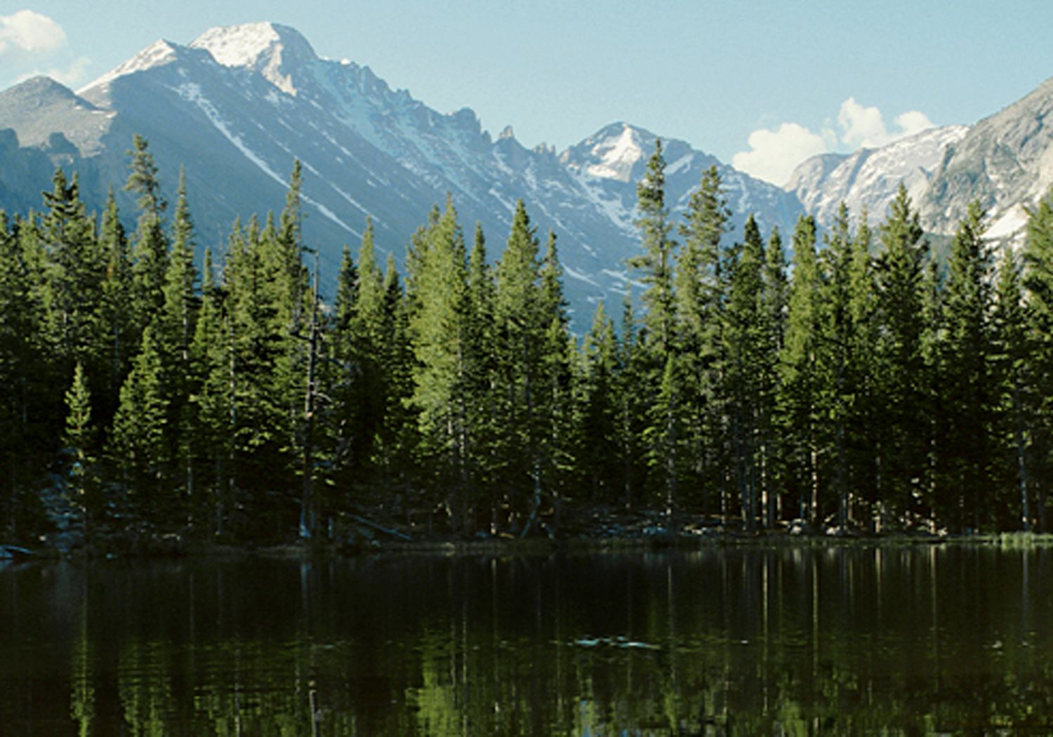 Rocky Mountain National Park Contains Over 350 Miles Of