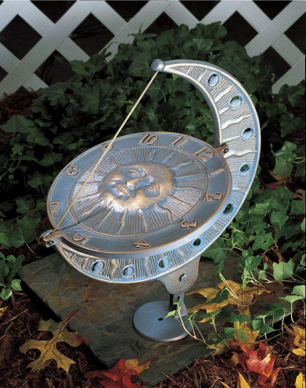Sun and Moon Sundial | Outdoor | Pinterest | Moon