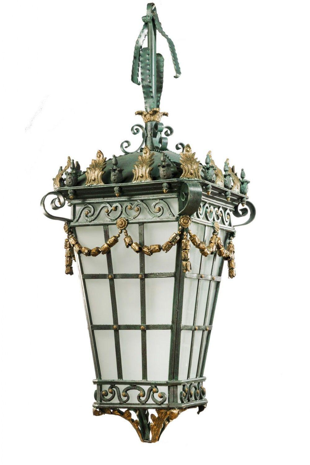 Early 19th Century Bronze Lantern 346887 Antique Lanterns Lanterns Antiques For Sale