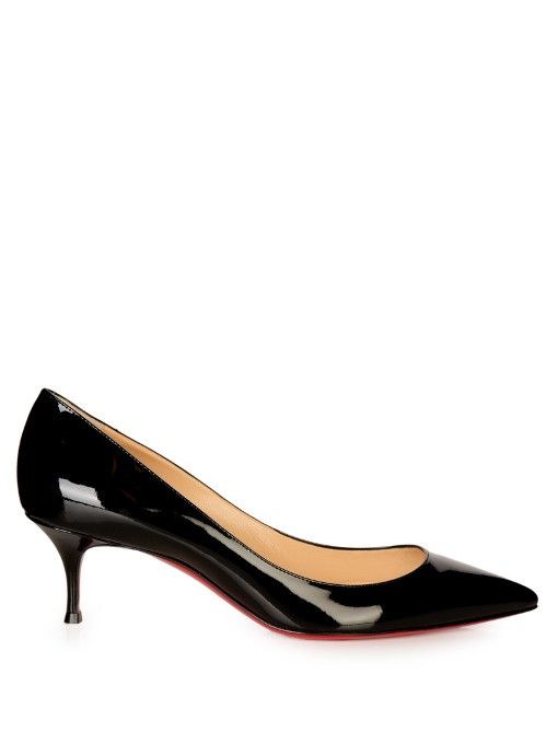 best loved d7318 b65f7 Christian Louboutin Pigalle Follies 55mm patent-leather ...