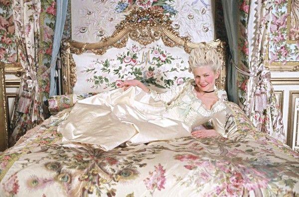 Marie Antoinette, SOVRUMMEN UR FILMENS