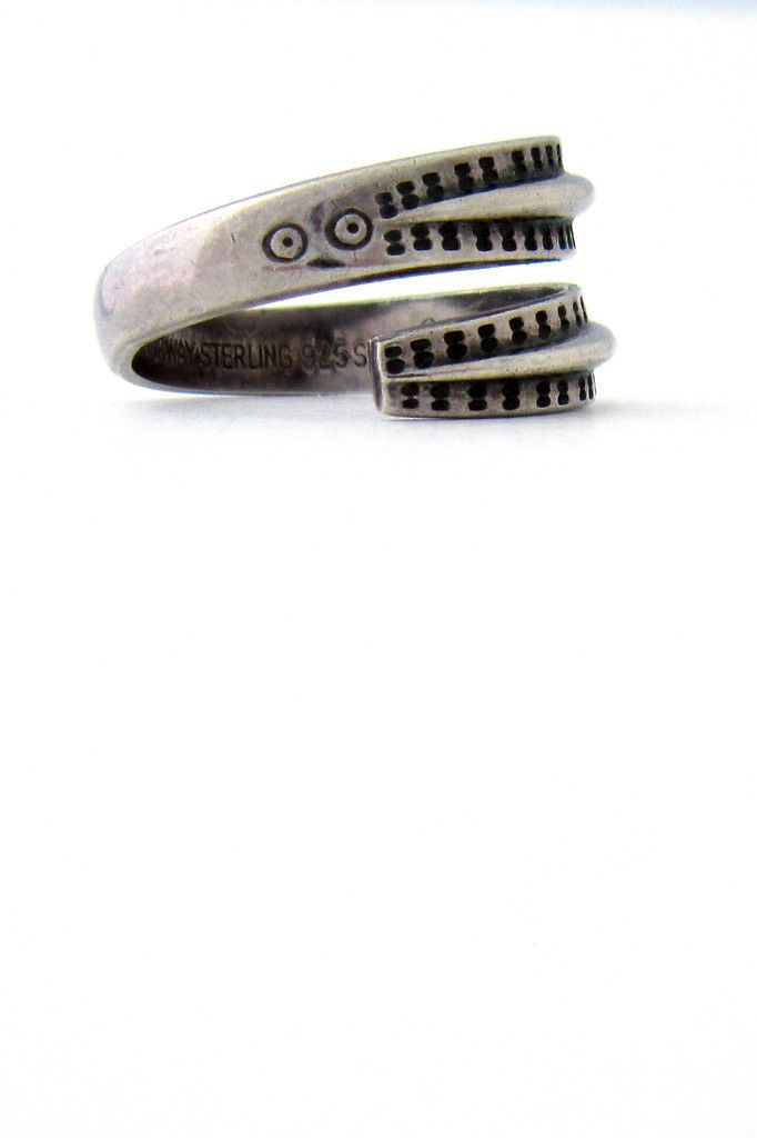 David-Andersen Norway silver Saga ring | Samantha Howard Vintage