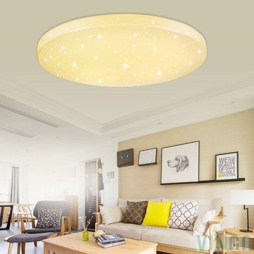 16W LED Deckenleuchte Warmweiß Starlight Effekt Schön Rund Korridor