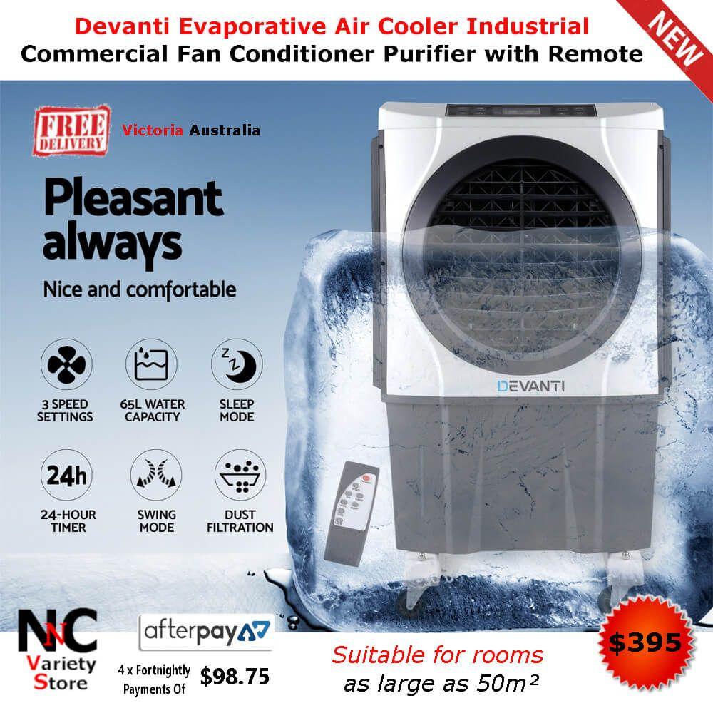 Devanti Evaporative Air Cooler Industrial Commercial Fan