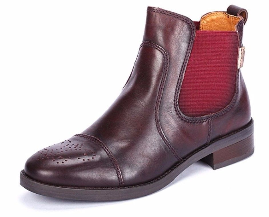 Pikolinos SHOES Stratford BOOTIES GARNET ANKLE BOOTS W1D-8565AA NEW 40 $230