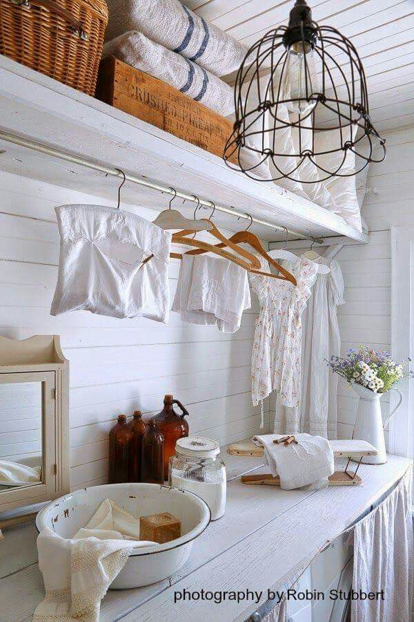 cottage laundry room laundry rooms pinterest laundry rooms laundry and room. Black Bedroom Furniture Sets. Home Design Ideas